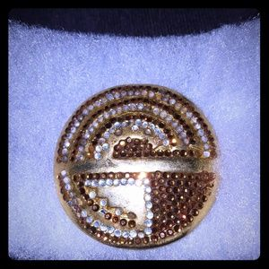 Vintage Judith Leiber Scarf Clip.